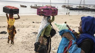 Hundreds flee Mozambique palma after Islamic raid